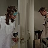 Another iconic Breakfast at Tiffany's? Holly's pajamas, which can be easily re-created with a sleep shirt, eye mask, and tassel earrings in place of earplugs.