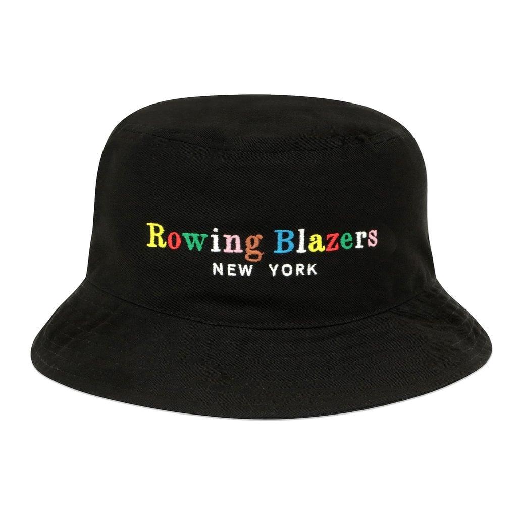 Rowing Blazers Black Spellout Bucket Hat