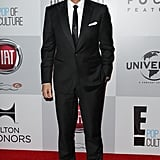 Vincent de Paul arrived at the NBC afterparty.