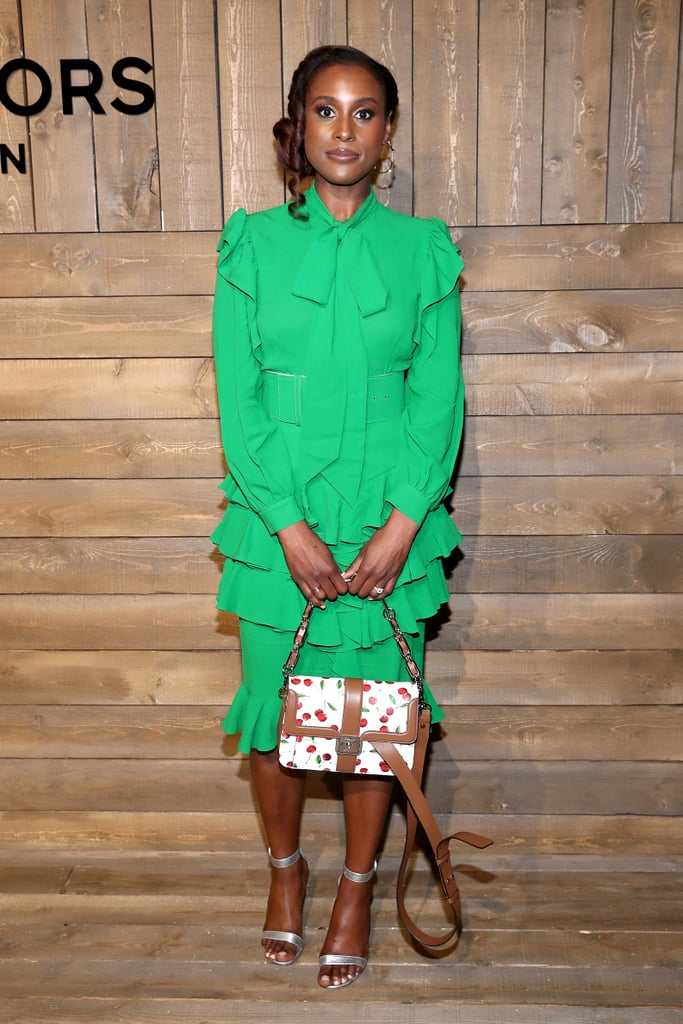 Issa Rae at the Michael Kors Fall 2020 Show