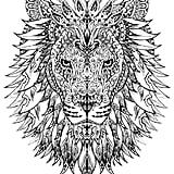 Get the coloring page Wolf Free Coloring Pages For Adults