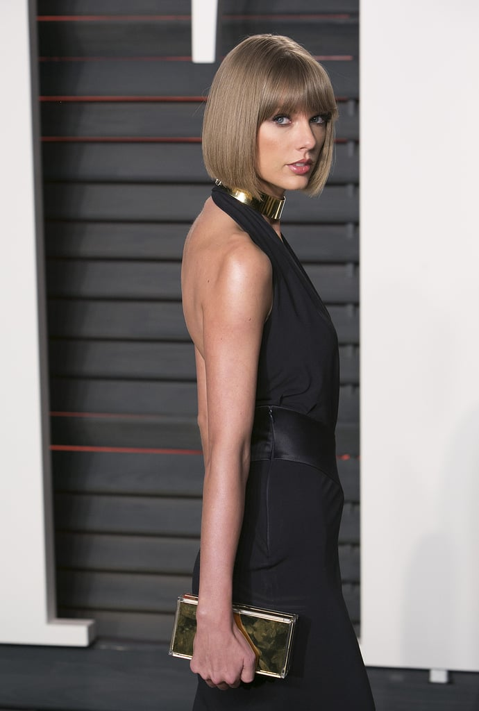 Taylor Swift At Vanity Fair Oscars Party 2016 Popsugar
