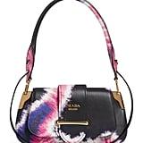 Prada Tie Dye Leather Top Handle Bag