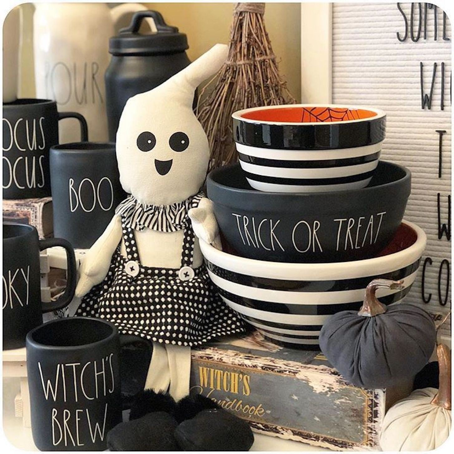 rae dunn halloween collection | popsugar family