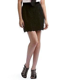 D&G Lace Mini Skirt - $325.00 at eLUXURY
