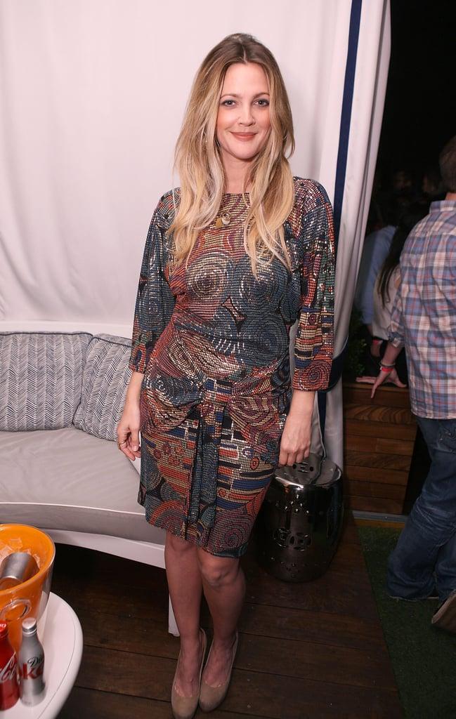Drew Barrymore, Jenna Dewan, Shenae Grimes at the Nylon Party
