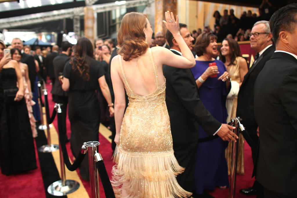 The Best Part of Emma Stone's Oscars Look Is the Message She's Sending