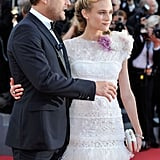 Joshua Jackson and Diane Kruger attended the Cannes premiere of Killing Them Softly.