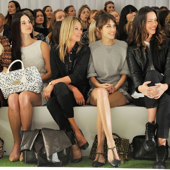 Mulberry Spring 2013 Front Row London Fashion Week