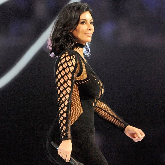 Kim Kardashian at the Brit Awards 2015