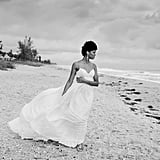 First-Look Wedding Photo Shoot on the Beach