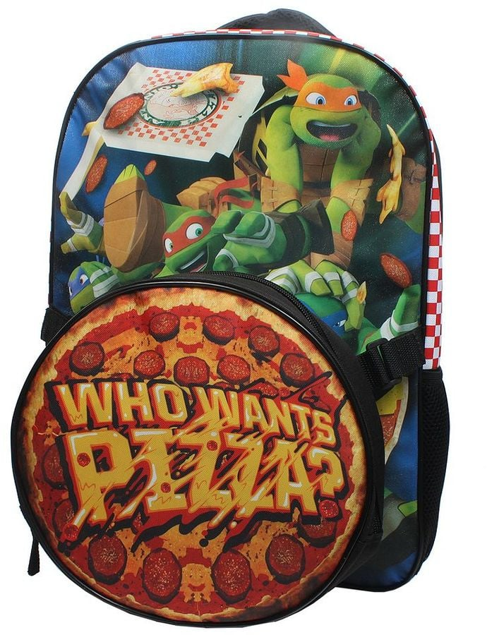 Teenage Mutant Ninja Turtles 'Who Wants Pizza?' Backpack & Lunch Tote Set