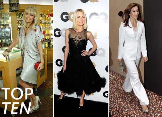 This Week's Top Ten Best Dressed Celebrities Jaime King, Blake Lively, Kate Moss, Elle Fanning & More!
