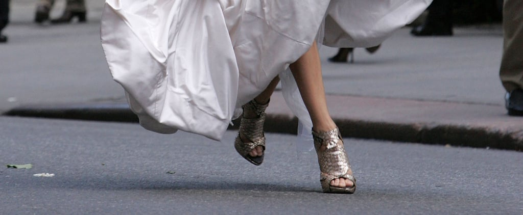 Carrie Bradshaw Would Totally Approve of These Bridal Shoes