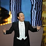 Billy Crystal got the show started at the 2012 Oscars.