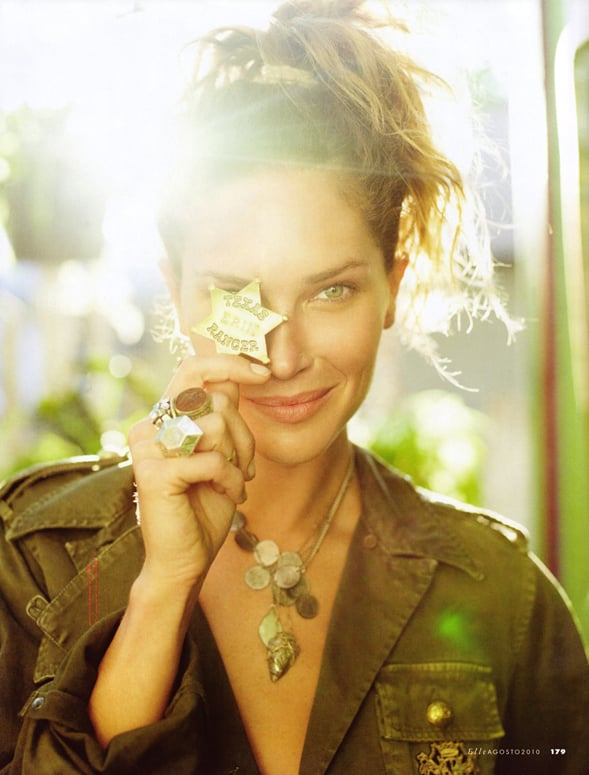 Pictures of Erin Wasson Texas-Inspired Style Story