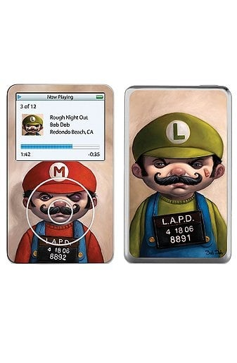 Super mario Brothers iPod Skins