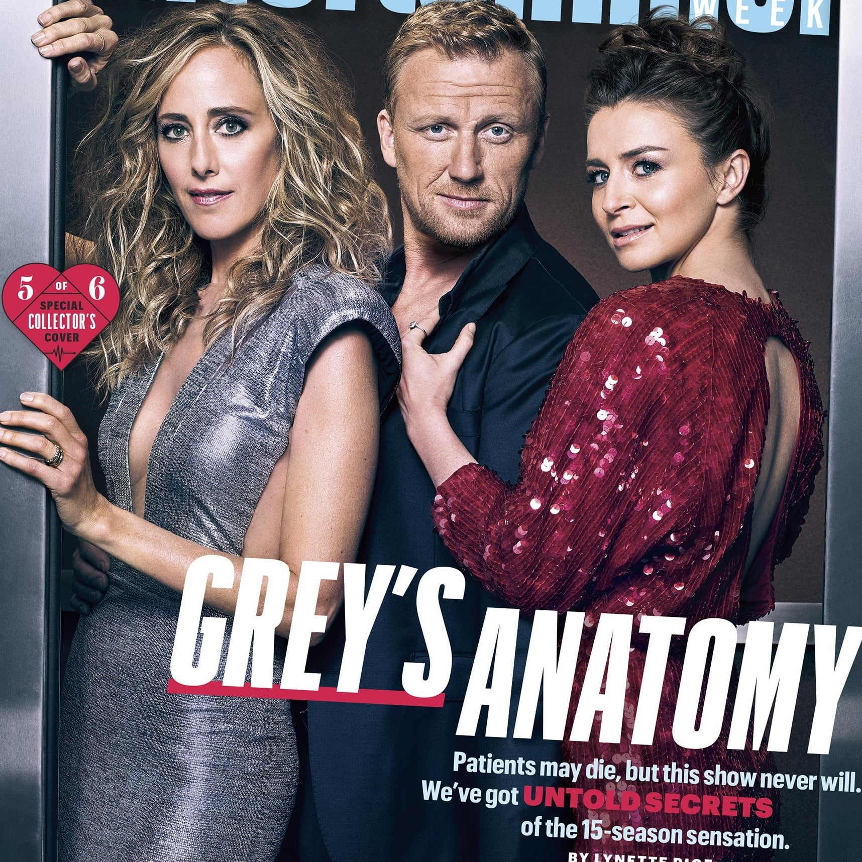 Entertainment Weekly Covers For Greys Anatomy Season 15 Popsugar