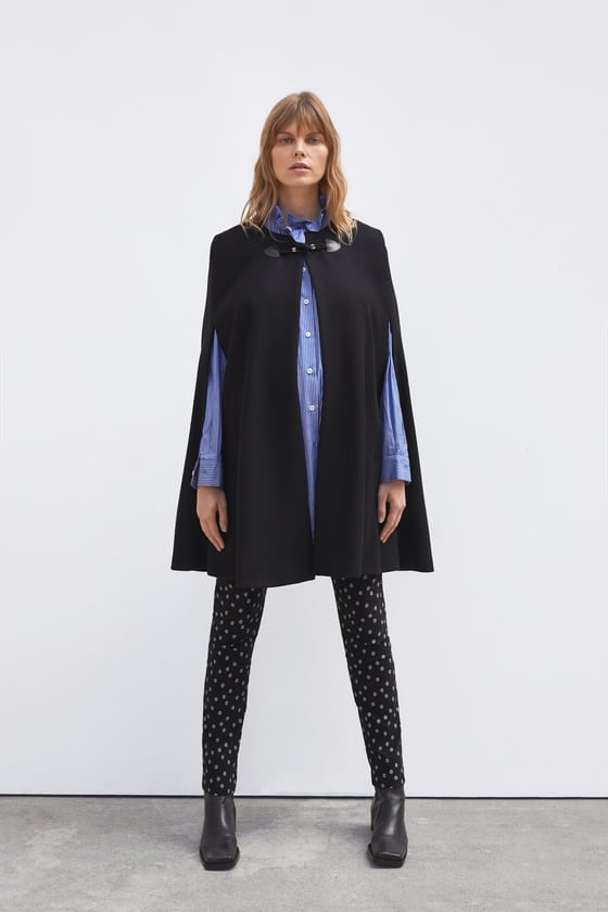 Zara Pocket Cape