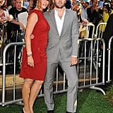 Jennifer Garner smiled with costar Joel Edgerton at the LA premiere of The Odd Life of Timothy Green.