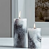 Marble Pillar Candle