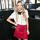 Harley Viera-Newton kept the crowd on their feet at the Voyage bash at New York's Gramercy Park Hotel.