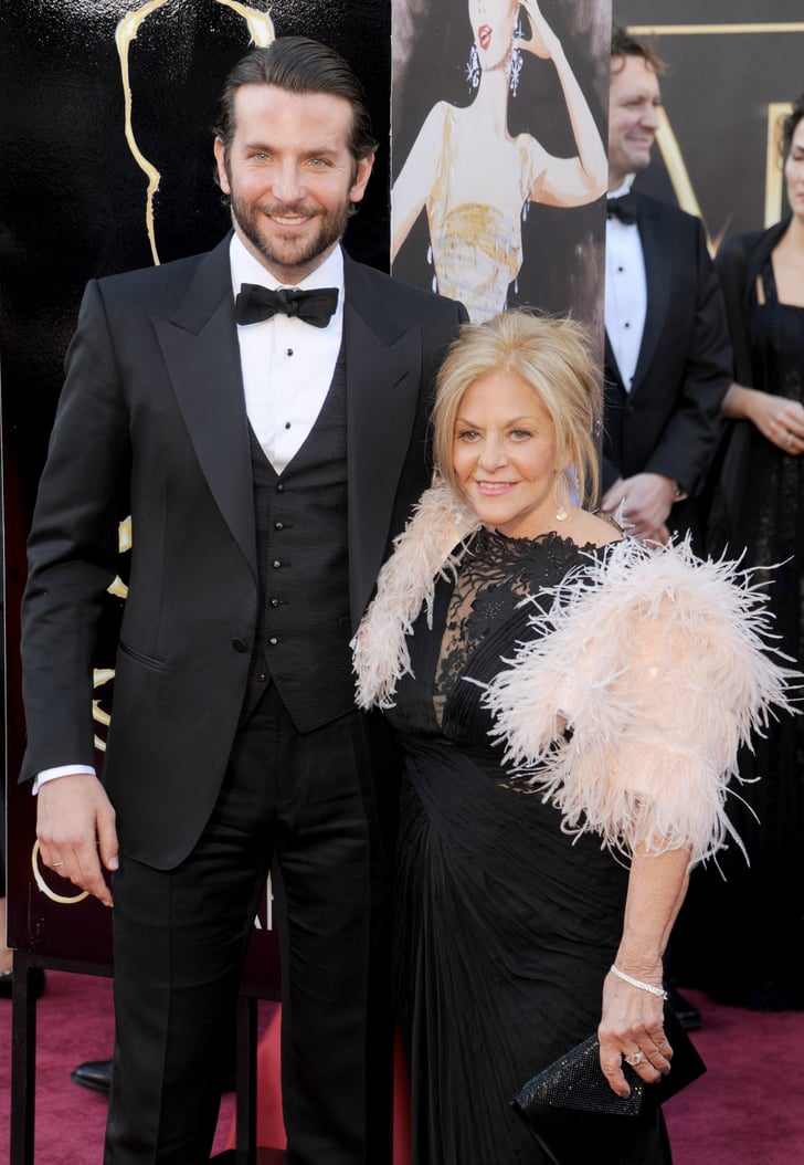 Bradley Cooper Celebrities With Their Moms Pictures