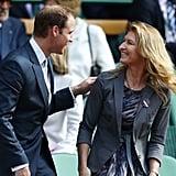 William and Steffi Graf