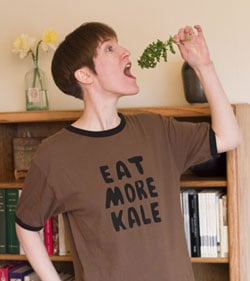 Eat Kale:  Leafy Greens in Honor of St. Patty's Day