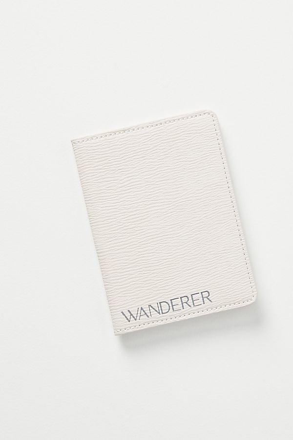 Anthropologie Wanderer Passport Holder