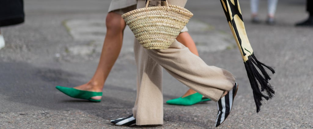 13 Easy Ways to Style Your Wicker-Basket Bag This Fall