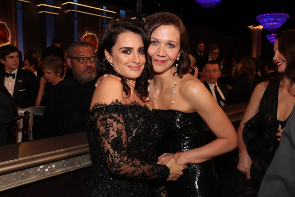 Pictured: Penélope Cruz and Maggie Gyllenhaal