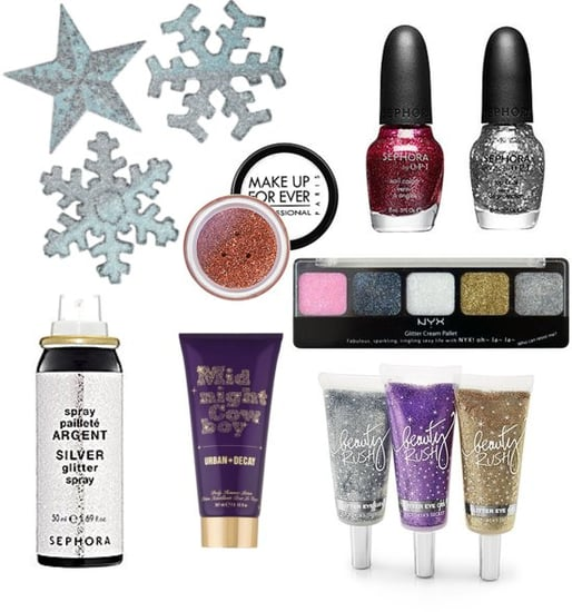 Glittery Makeup For the Holiday Season