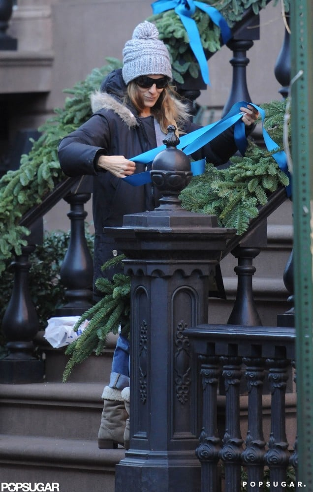 SJP Dresses Up Her Home (and Her Twins) For the Holidays