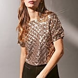Urban Outfitters Sequin Tee