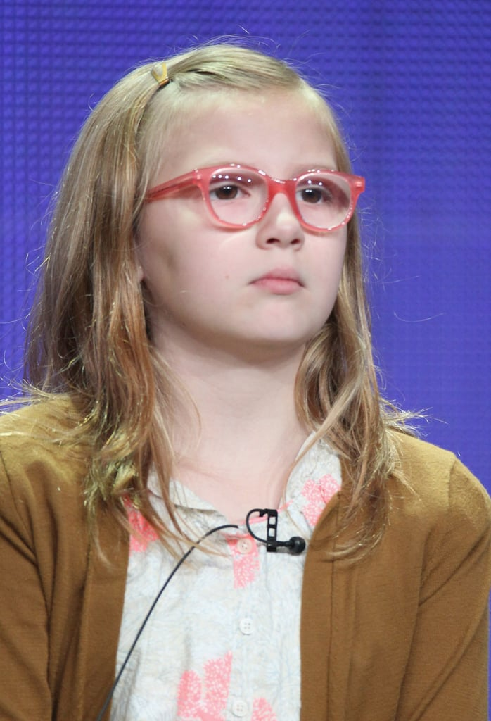 Bebe Wood plays Georgia King's daughter on The New Normal.