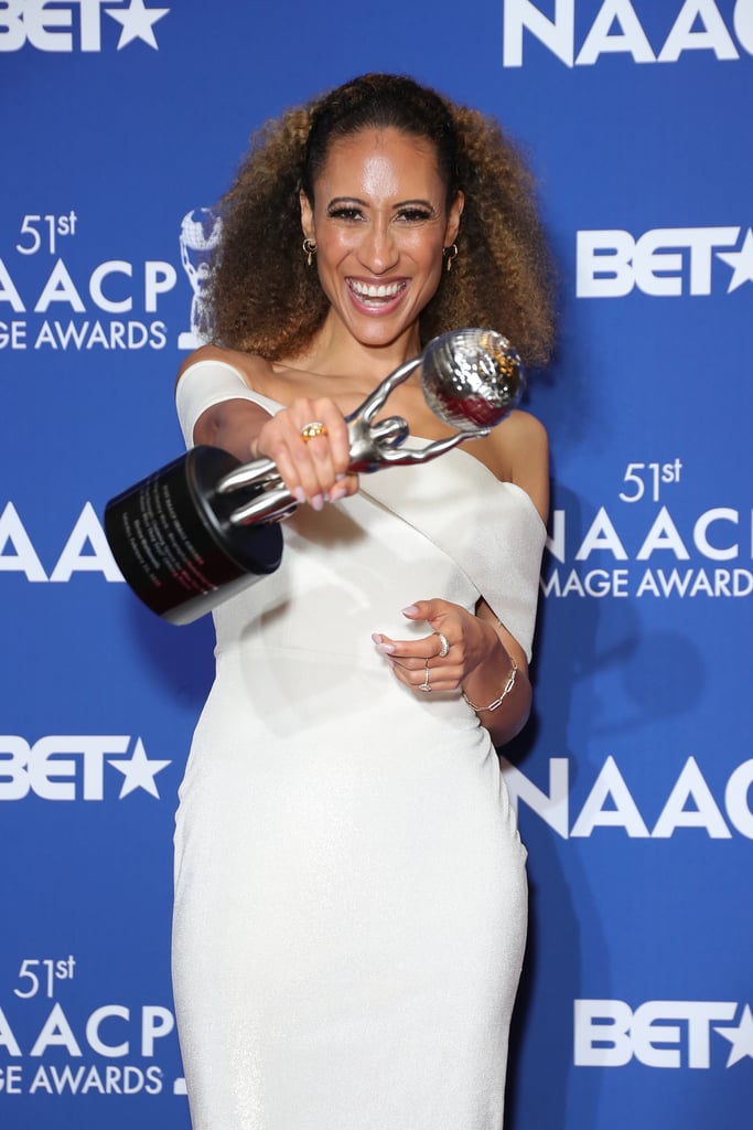 Elaine Welteroth at the 2020 NAACP Image Awards Dinner