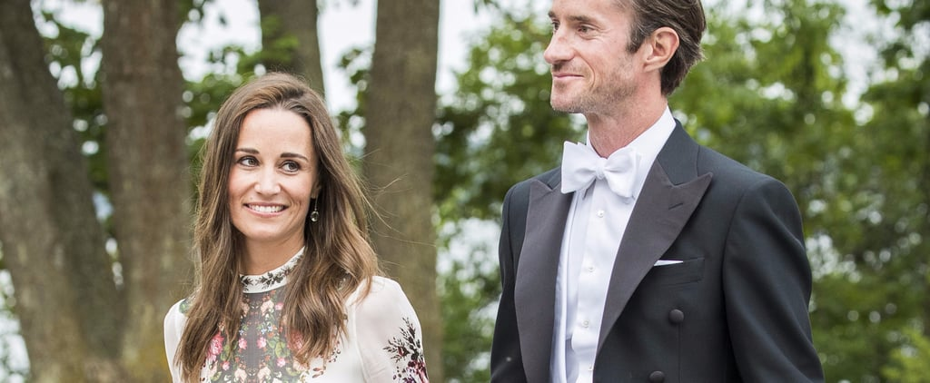 Pippa Middleton's Dress Is Just Sheer Enough For a Summer Wedding
