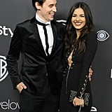 Victoria Justice Making Her Red Carpet Debut With New Boyfriend Reeve Carney at the InStyle Afterparty