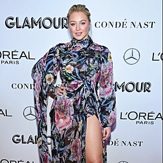 Iskra Lawrence's Prabal Gurung Floral Dress November 2018