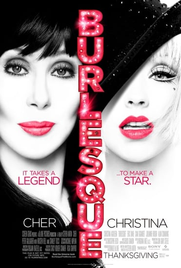 Christina Aguilera, Cher 'Burlesque' Poster Revealed