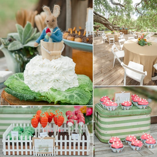 A Birthday Garden Party Starring Peter Rabbit