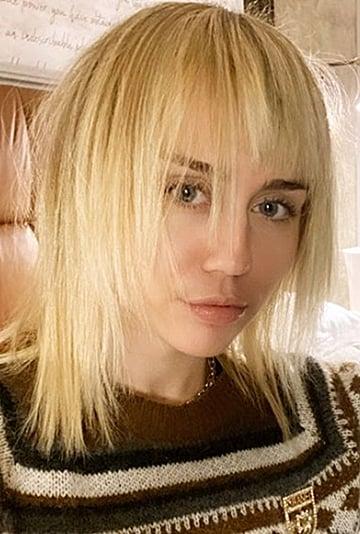 Miley Cyrus's Mullet Haircut