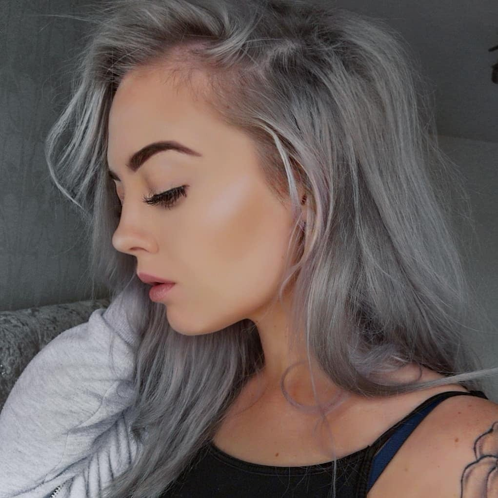 Hairstyles For Grey Hair POPSUGAR Beauty UK