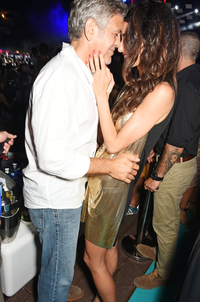 George and Amal Clooney Show PDA in Ibiza | Photos