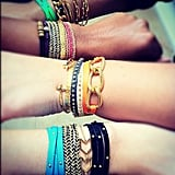 Gorjana gave us a peek at a crop of covetable wrist candy.