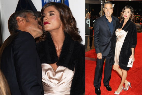 Photos of George and Elisabetta