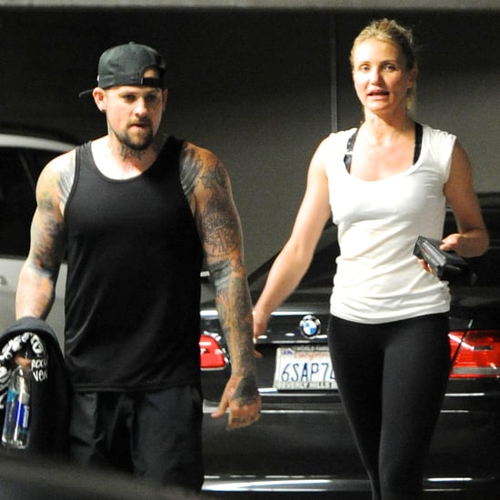 Cameron Diaz and Benji Madden After the Gym