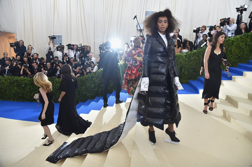 Solange Knowles Wearing Thom Browne at the Met Gala 2017