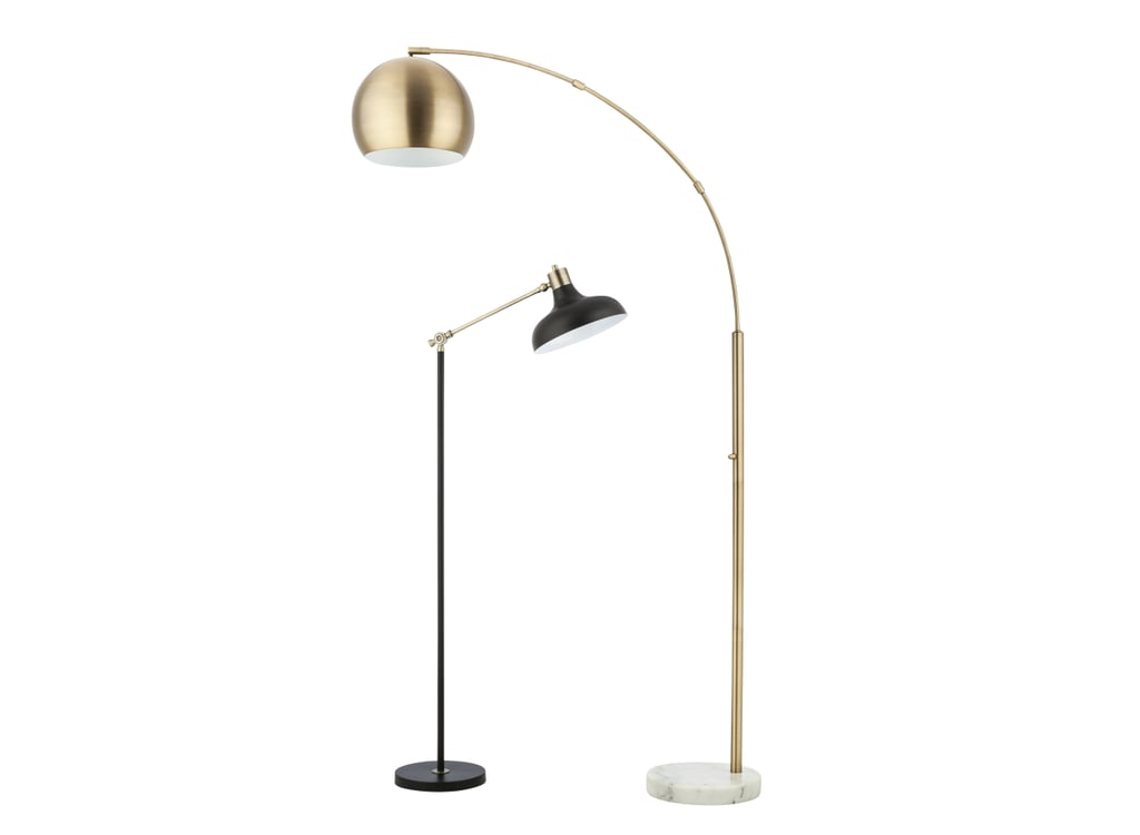Target39s new threshold fall collection 2015 popsugar home for Gold globe floor lamp